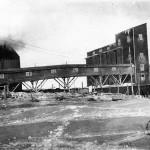 Cementfabriken i Slite på 1920-talet. Foto Cementa AB