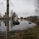 Dammen i Vintjärn. Foto Ida Dicksson 2013