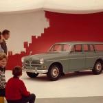Detta är det första reklamfotografiet för Volvo som arrangerats av Bernt Lindström. Foto Bernt Lindström 1960-tal