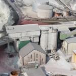 Cementfabriken i Slite. Foto Lena Knutson Udd 2009