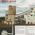 Genomförda uppdrag - Skylt som visar brytnings- och förädlingsprocessen vid gruvan (2008) Lena Knutson Udd